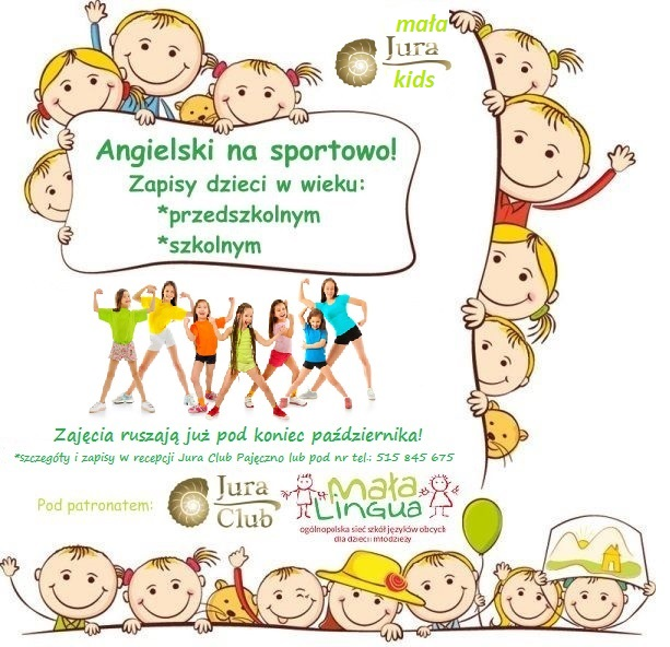 Zajęcia Dla Dzieci W Juraclub Juraclub Pajęczno